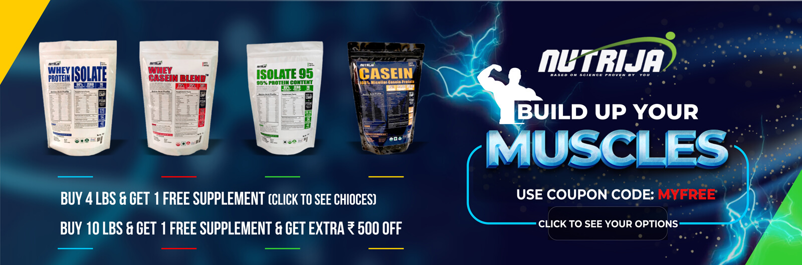 best whey proteins supplements in india