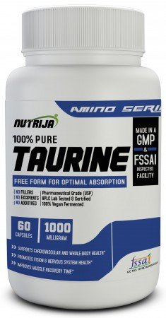 Buy Taurine 1000 Mg Capsules Supplement In India