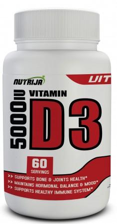 Buy Vitamin D3 5000 IU Capsules Supplement in India