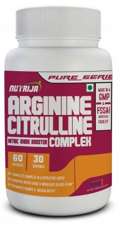 Buy L-Arginine and L-Citrulline Complex Capsules In India