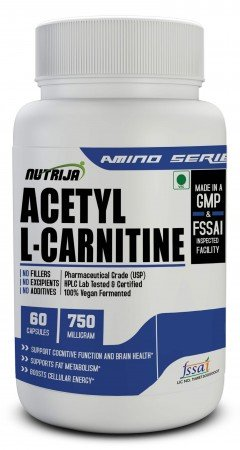 Buy Acetyl L-Carnitine 750MG Supplement in India