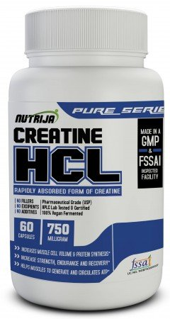 Creatine HCL 750mg Capsules,pills & tablets