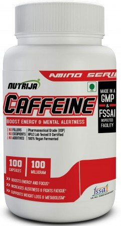 Buy Caffeine 100MG Capsule pill tablet Supplement In India