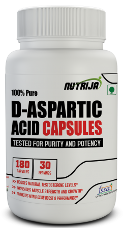 Buy D-Aspartic Acid Capsules Supplement in India