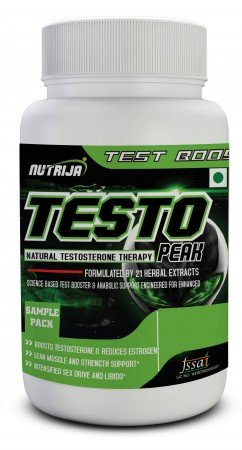Buy Testo Peak Testosterone Boosters Supplement In India