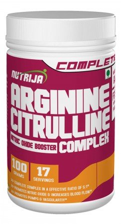 Buy L-Arginine and L-Citrulline Complex Supplement In India
