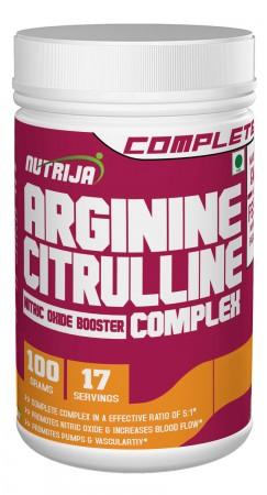 Buy L-Arginine and L-Citrulline Complex Supplement In India