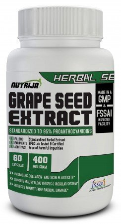 Buy Grape Seed Extract Capsules Supplement In India