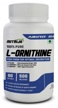 Buy L Ornithine 500Mg Capsules Online in India