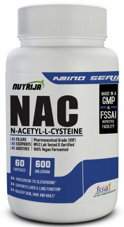 Buy N-Acetyl Cysteine (NAC), 600 mg Supplement In India
