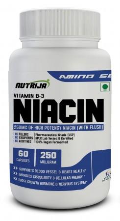 Buy Niacin 250MG Supplement In India