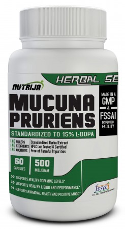 Buy Mucuna Extract Capsules Supplement In India