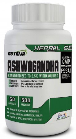 Buy Ashwagandha Capsules Supplement In India