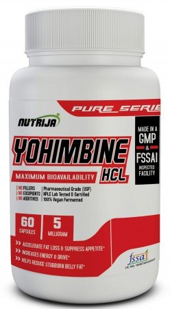 Buy Yohimbine HCL 5 MG Supplement In India