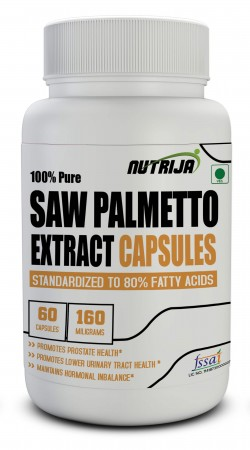 Buy Saw Palmetto Extract Capsules Supplement in India
