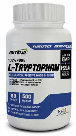 Buy Tryptophan 500mg Supplement In India