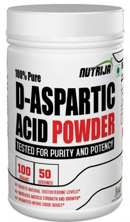 Buy D-Aspartic Acid Powder Supplement in India