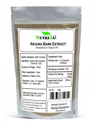 Buy Terminalia Arjuna Bark Extract Supplement in India