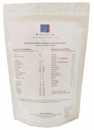 Buy Davisco Whey Protein Concentrate -80% in India