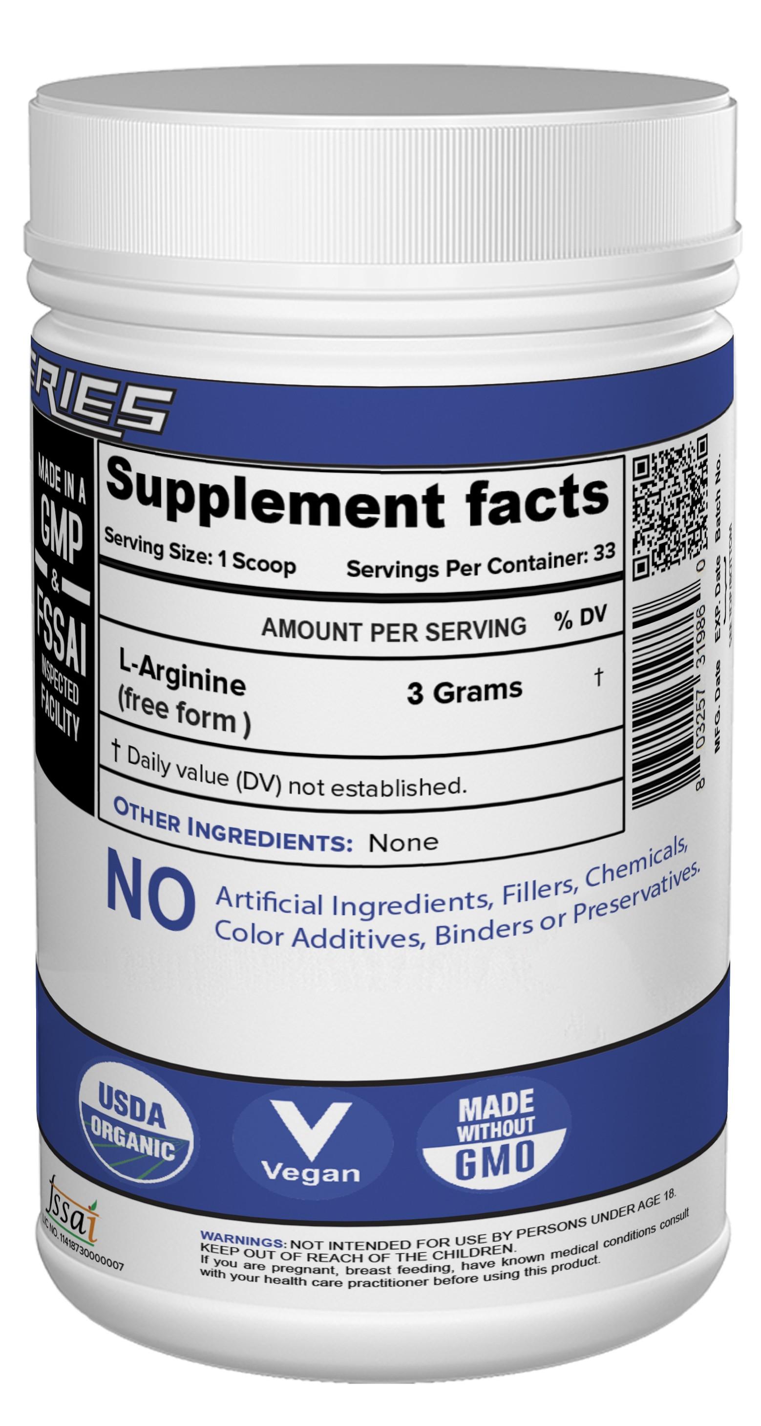 Buy L-Arginine Online in India | NutriJa™ Supplement Store