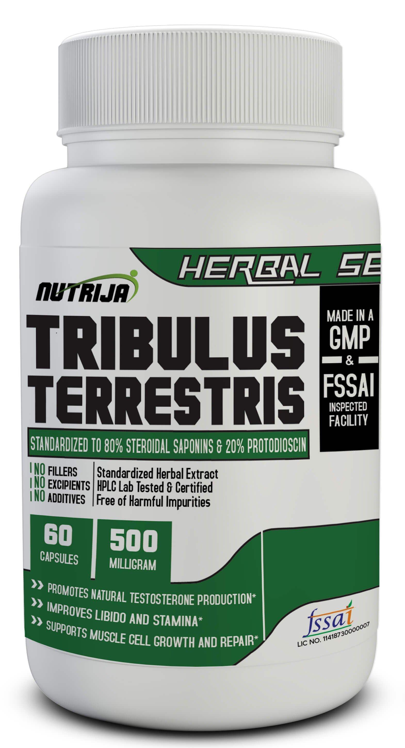 Buy Tribulus Terrestris Extract Capsules In India Nutrija Capsulespills Tablets
