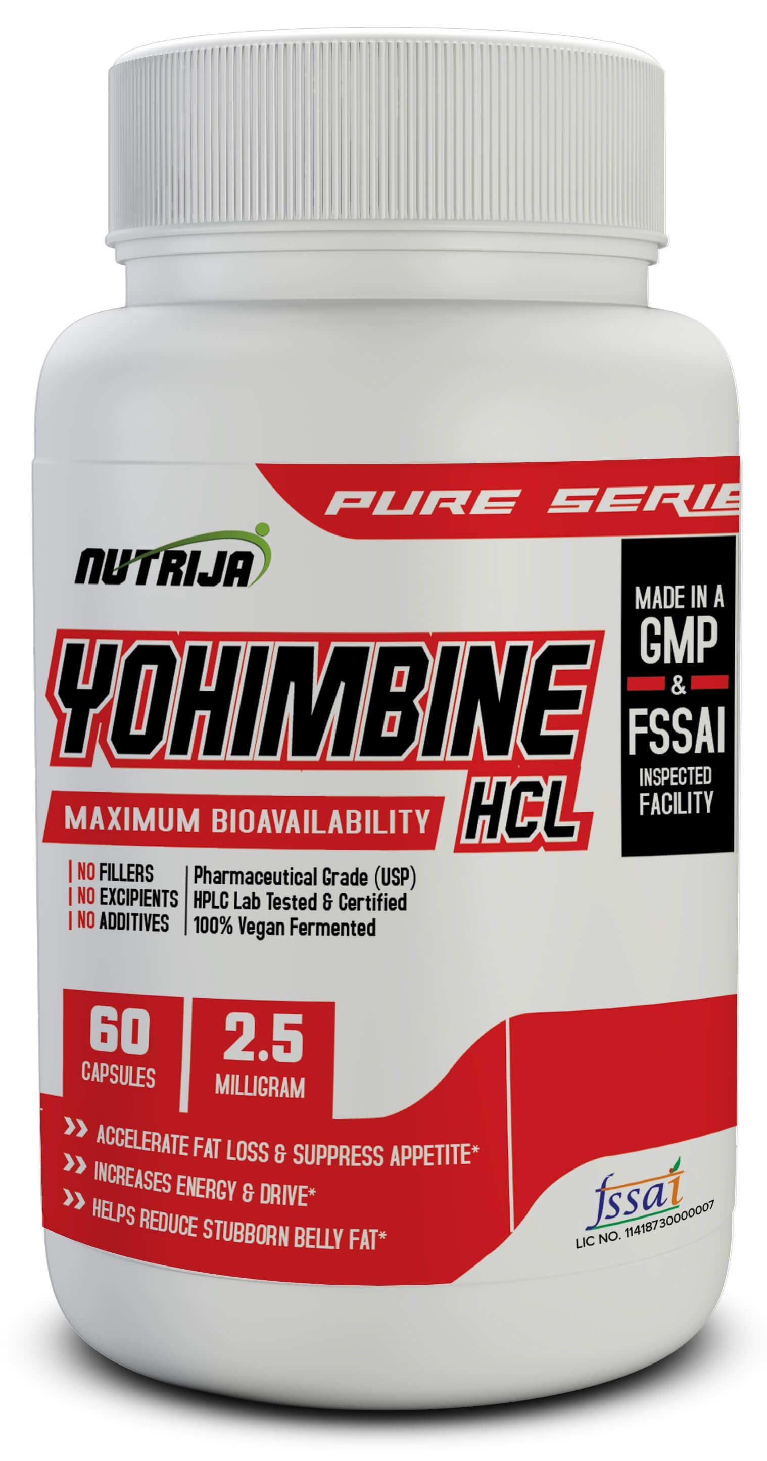 Yohimbine HCL 2 5 MG