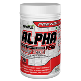 Alpha Peak Preworkout Supplement in India