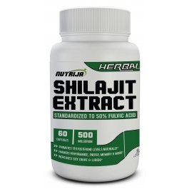 Buy Shilajit Extract 500MG Capsules Supplement in India