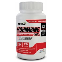 Buy Yohimbine HCL 2.5 MG Supplement In India