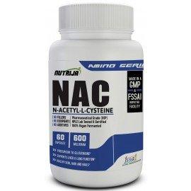 N-Acetyl Cysteine (NAC), 600 mg