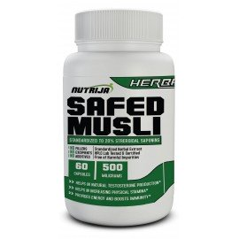 Safed Musli Extract Capsules